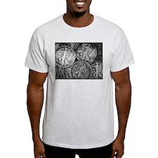 Walking Liberty Coins T-Shirt