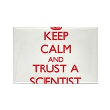 Keep Calm and Trust a Scientist Magnets