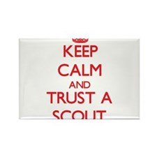 Keep Calm and Trust a Scout Magnets