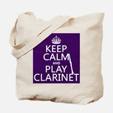 Keep Calm and Play Clarinet Tote Bag