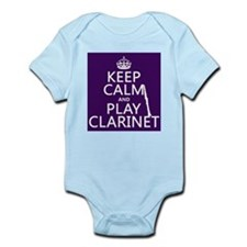 Keep Calm and Play Clarinet Body Suit