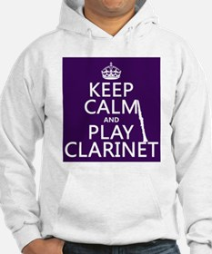 Keep Calm and Play Clarinet Jumper Hoody