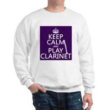Keep Calm and Play Clarinet Jumper