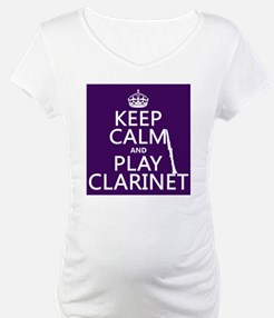 Keep Calm and Play Clarinet Shirt