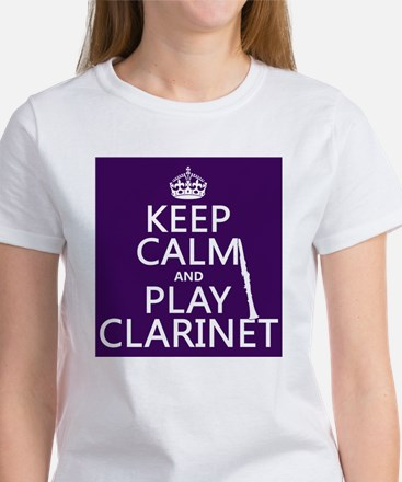 Keep Calm and Play Clarinet T-Shirt