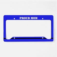 Proud Mom License Plate Holder