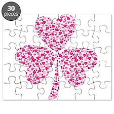 Valentine Heart Sharmrocks Puzzle