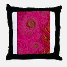 Kiss - Unique Fractal Art Throw Pillow