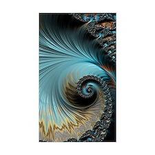 Aqua - Unique Fractal Decal