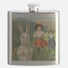 Vintage Easter Bunny Flask