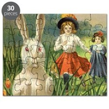 Vintage Easter Bunny Puzzle