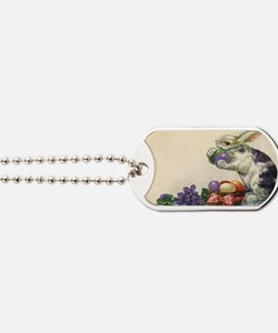 Vintage Easter Bunny Dog Tags