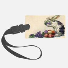 Vintage Easter Bunny Luggage Tag