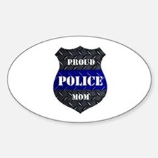 Proud Police Mom Stickers