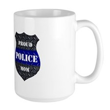 Proud Police Mom Mugs
