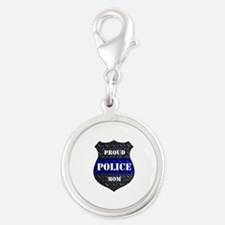Proud Police Mom Charms