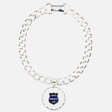 Proud Police Mom Bracelet