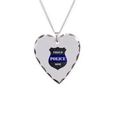 Proud Police Mom Necklace