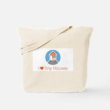 I Love Tiny Houses Corporate Logo Tote Bag