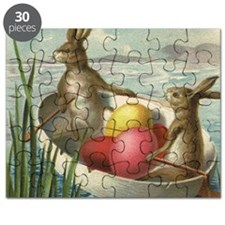 Vintage Easter Bunnies Puzzle