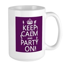 Keep Calm and Party On (5) Mugs
