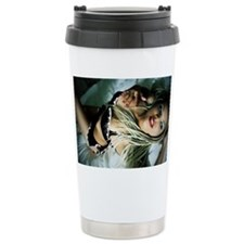 Sexy Woman in Lingerie Travel Mug