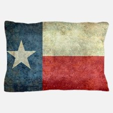 """The """"Lone Star Flag"""" of Texas Pillow Case"""