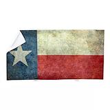 Texas star Beach Towels