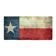 "The ""Lone Star Flag"" of Texas Beach Towel"