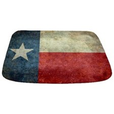 "The ""Lone Star Flag"" of Texas Bathmat"