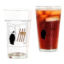 Carrots on sticks Drinking Glass