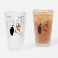 Carrots on sticks Drinking Glass