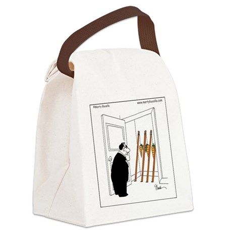 Carrots on sticks Canvas Lunch Bag