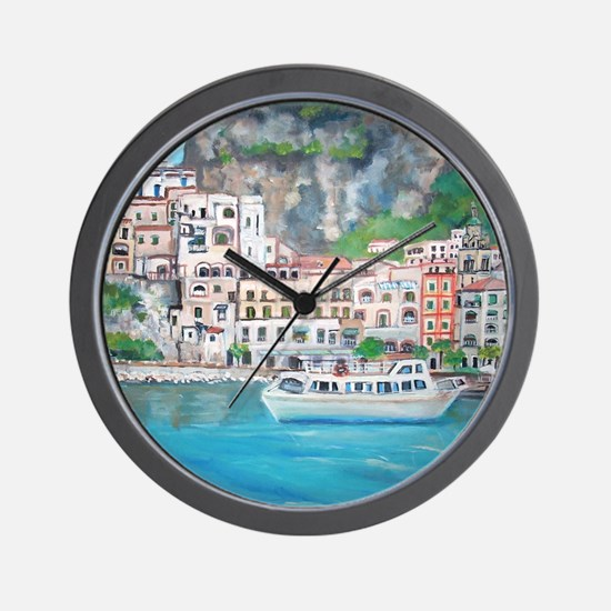 Amalfi Coast, Italy Wall Clock