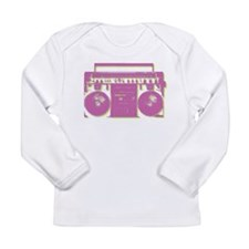 Vintage Boom Box Long Sleeve T-Shirt
