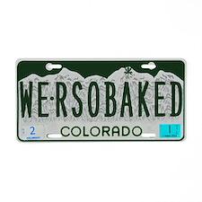 Funny Colorado License Aluminum License Plate