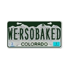 Funny Colorado License Aluminum License Plate
