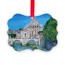 The view of the Vatican City Ornament