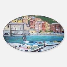 Vernazza Harbor, Italy Decal