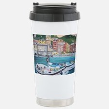 Vernazza Harbor, Italy Stainless Steel Travel Mug
