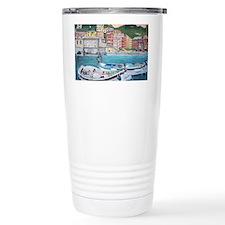 Vernazza Harbor, Italy Travel Coffee Mug
