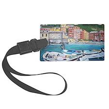 Vernazza Harbor, Italy Luggage Tag