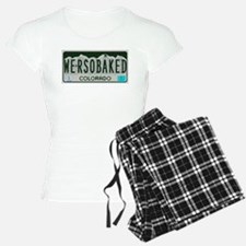 Funny Colorado License Plate Pajamas