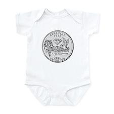 Arkansas State Quarter Infant Creeper