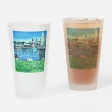 Oceanside Harbor Drinking Glass