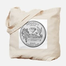 Arkansas State Quarter Tote Bag