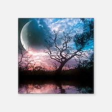 """Lunar Dreams Square Sticker 3"""" x 3"""""""