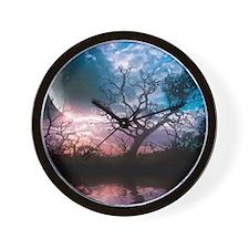 Lunar Dreams Wall Clock