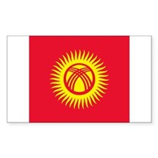 Flag of Kyrgyzstan Decal