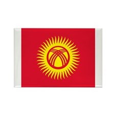 Flag of Kyrgyzstan Magnets